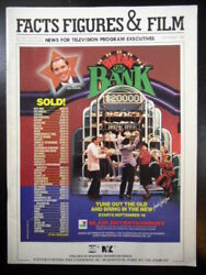 """Facts Figures And Film Magazine 1985 September """"break The Bank"""" Sold"""