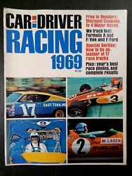 Car And Driver Racing 1969, Formula A, F/vee, F/ford, Year's Best Photos