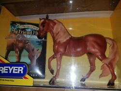 My Friend Flicka Breyer Horse #1255 NIB NEW includes Book and Necklace WOW