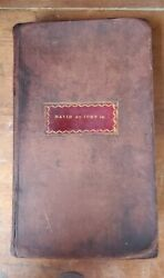 1793 1st American Edition New York Common Prayer Psalms Leather Antique Bible