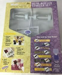 New Wagner Original Wall Magic Dual Roller Starter Set Faux Finishes Made Easy