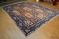 8and0393 X 11and0393 Antique Bakhtiari Garden Design Circa 1920and039s Authentic Rugs