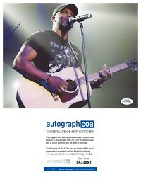 Jimmie Allen Country Star Signed Autograph 8.5x11 Photo Picture Acoa Coa