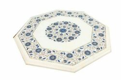 21 Marble Dining Table Top Inlay Rare Semi Antique Center Coffee Table Ar0935