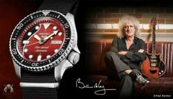 Queen Brian May Collaboration Limited Model Watch Seiko 5 Sports Limited 9000