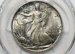 1946-s Walking Liberty Half Wlh Pcgs Ms66+ Cac Brilliant Coin