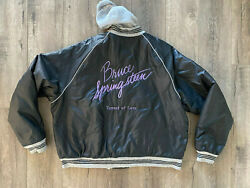 Bruce Springsteen And The E Street Band Tunnel Of Love Tour Jacket Columbia Record