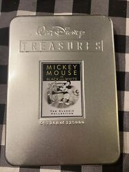 Walt Disney Treasures Mickey Mouse In Black And White Dvd 2002 2-disc Set