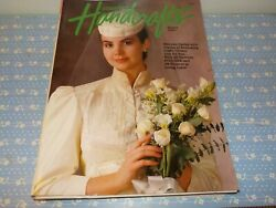 Country Handcrafts And Cross Stitch Magazine Sewing Craft Big Lot Vintage 1980's