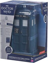 Doctor Who Thirteenth Dr Tardis Electronic Lightandsound Fx New Action Figure 13th