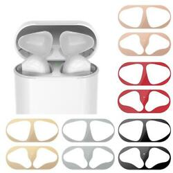 New Metal Dust Guard Protective Sticker Film Cover Accessories For Airpods P0t8