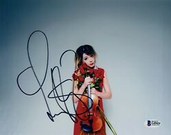 Lindsey Stirling Signed Autographed 8x10 Photo Beckett Bas Coa