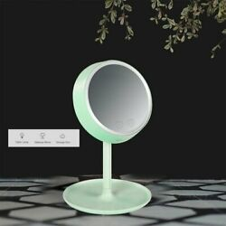 2020 Outad Blue 3-in-1 Led Lighted Makeup Vanity Mirror Table Lamps De