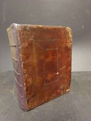 1632 King James Bible Printed By Robert Barker In London-quarto Size