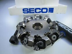New Seco Octomill R220.48-03.00-09-09m Face Mill Edp 45142 Carbide Insert Tool