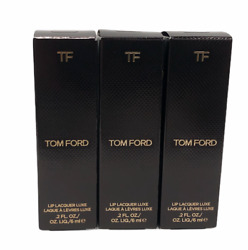 Tom Ford Lip Lacquer Luxe Vinyl Lip Gloss 0.2oz/6ml New In Box You Pick
