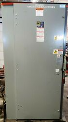 Square D H368nawk Fuseable Safety Switch Cabinet 1200a W/ 3 Ktu-1000 Fuses