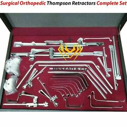 New Orthopedic Thompson Retractor Complete System Set Surgical Instruments