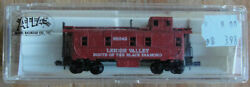 Atlas N Scale 95042 Lehigh Valley Route Of The Black Diamond Caboose 3568