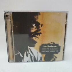 Nappy Brown Night Time Is The Right Time Savoy Jazz Svy17074 Audio Cd 2 Disc