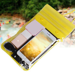 Waterproof Bag Case Cover Swimming Beach Pouch For Mobile Phone with Strap $6.70