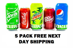 Koozie Silicone Beer Can Covers Hide A Beer Soda Can 12oz 5 Pack U.s. Seller