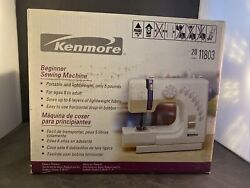 Sears Kenmore 385-11803 1/2 Size Beginner Sewing Machine - 8 Stitch Options