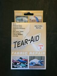 Tear-aid Patch Kit W/tape Patches And Alcohol Prep Type A All Fabric Repair Aa2