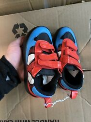 Spiderman Boys Shoes Size 7