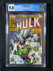 Incredible Hulk 249 Cgc 9.6 1980 - Newsstand - Jack Frost Appearance