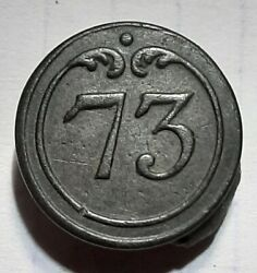73rd Infantry Regiment Button.french Army.very Rare