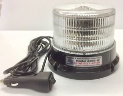 Sound Off Signal Led Beacon Magnetic Mount White