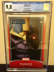 Thanos 13 Christopher Variant 1st Appearance Cosmic Ghost Rider Cgc 9.8 Nm+/mt