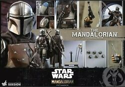 Hot Toys 1/6 Scale The Mandalorian Star Wars Brand New Sealed In Shipper