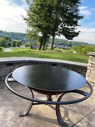 Custom Round Fire Pit Lid 18 To 50 Diameter 1/8 Thick Steel Ships Free
