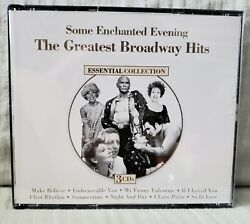 Some Enchanted Evening: The Greatest Broadway Hits Original Artists 3 CD Set $8.00