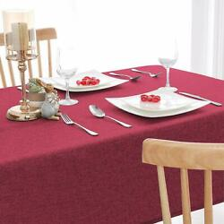 Pack Of 1 Red Heat Resistant Dining Table Place Mats For Kitchen Wedding Party