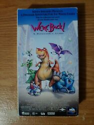 Weand039re Back A Dinosaurand039s Story Vhs 1995 Steven Spielberg Animated Adventure