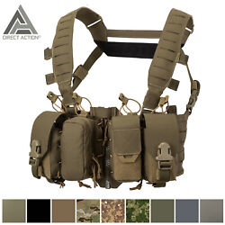 Chest Rig Modular Vest Molle Helikon Pouch Hurricane Hybrid Direct Action Pals
