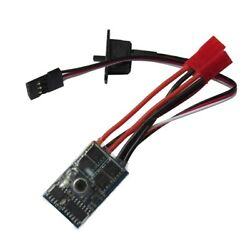 30xrc Esc 10a Brushed Motor Speed Controller For Rc Car Boat W/o Brake Without