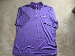 Footjoy Golf Shirt New W/out Tags Large 100 Polyester W/ Logo