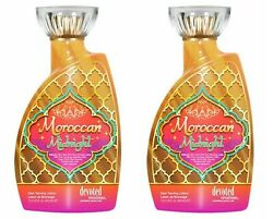 Lot Of 2 Devoted Creations Moroccan Midnight Tanning Bed Lotion 13.5 Oz