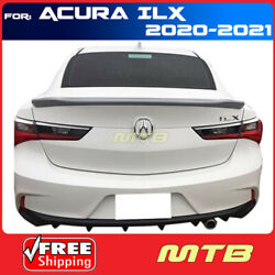 For 20-21 Acura Ilx Rear Trunk Spoiler Flush Mount Factory Style Primer Primered