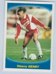 Thierry Henry Monaco Rookie Panini Sticker 137 Superfoot 1997-1998 France