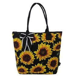 Sunflower NGIL Quilted Tote Bag Monogram Included $29.99