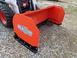 New Hla 2500 Series 72 Snow Pusher Attachment For Skid Steers Ssl Quick Attach