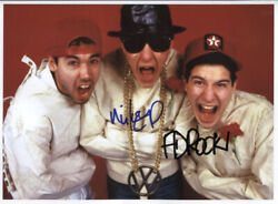 Beastie Boys Mike D Ad Rock Signed 8 X 10 Photo Genuine In Person + Hologram Coa