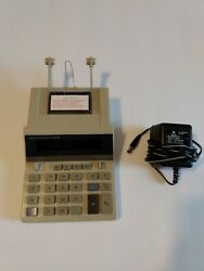 Texas Instruments Ti-5029 Adding Machine Calculator Office Work Study Charger