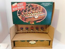 Mr. Christmas Merry Music Makers 1996 Mechanical Soldiers Brand New Free Shiping
