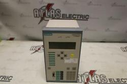 Siemens Overcurrent Relay 7sj6215-5ec92-3fg0/ff Overcurrent Protection And Contr